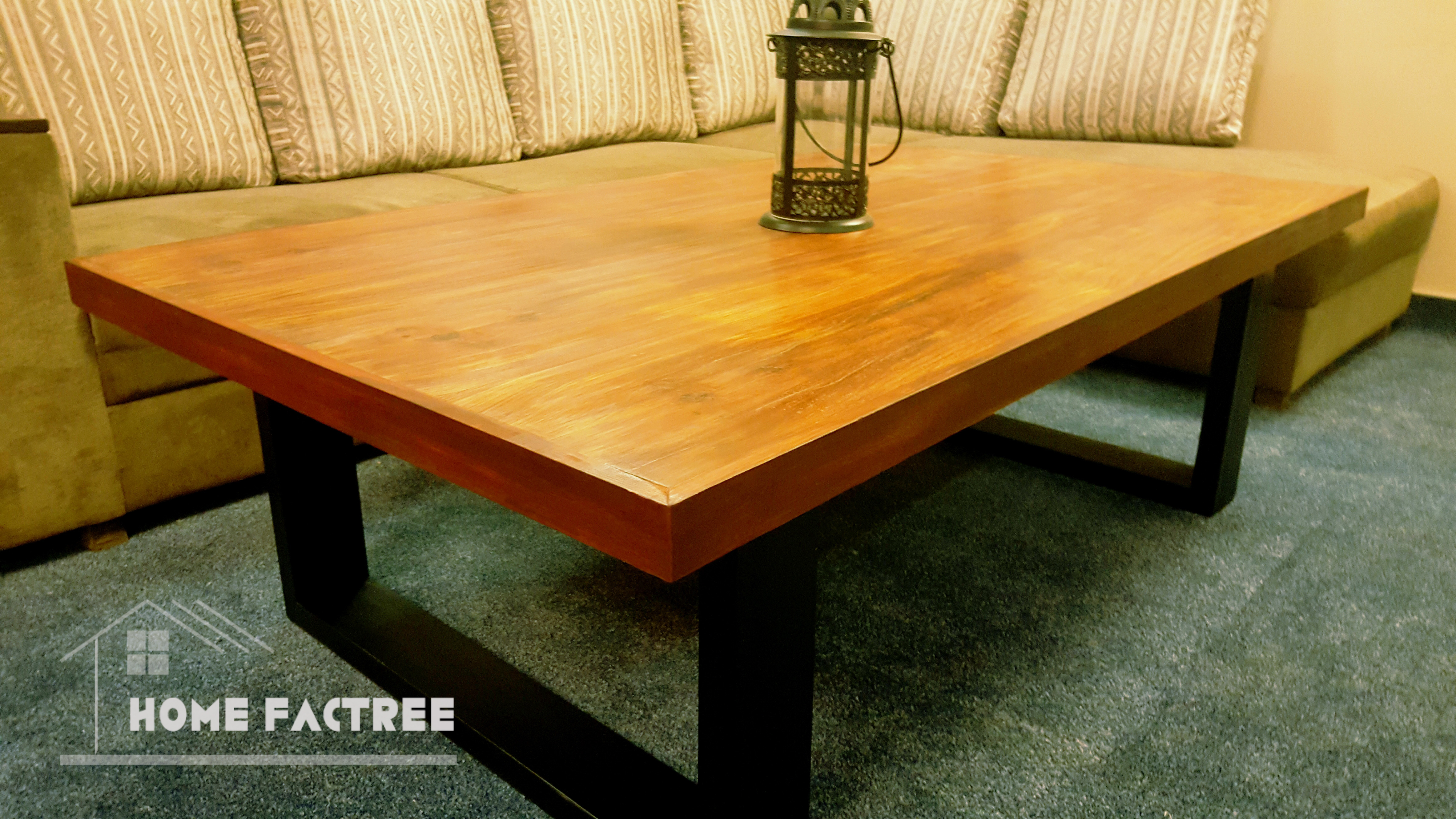 Metal Table With Wood Top Home Factree