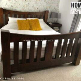 solid sheesham bed