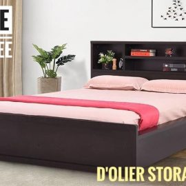 dolier storage bed for kids