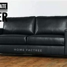 black office sofa