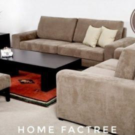 baige sofa 5 seater