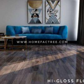 wooden flooring lamination high gloss