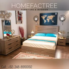 oak bed set
